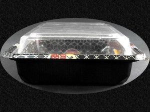 Caserole din Plastic pentru Sushi  Caserole plastic sushi caserole plastic sushi caserole cu capac 20 3 300x225