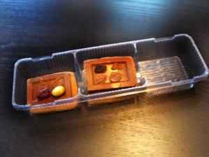 Caserole pentru biscuiti  Caserole plastic biscuiti caserole biscuiti ciocolata 3 compartimente 650 2 300x225