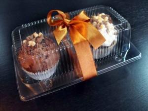 Caserole plastic pentru cupcakes