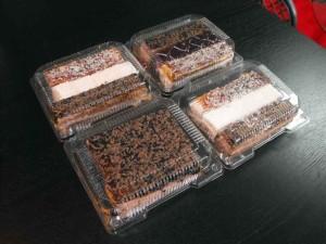 Caserole din plastic pentru miniprajituri
