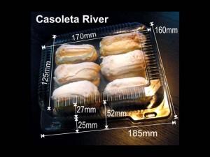 Caserole plastic minieclere