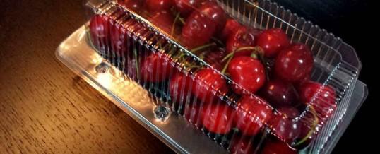 Caserole compartimentate cirese si fructe