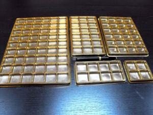 Chese pentru praline  Chese praline chese aurii din plastic pentru praline 1477 6 300x225