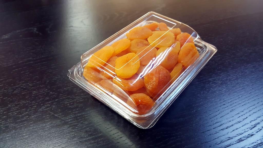 Caserola cu capac din plastic transparent