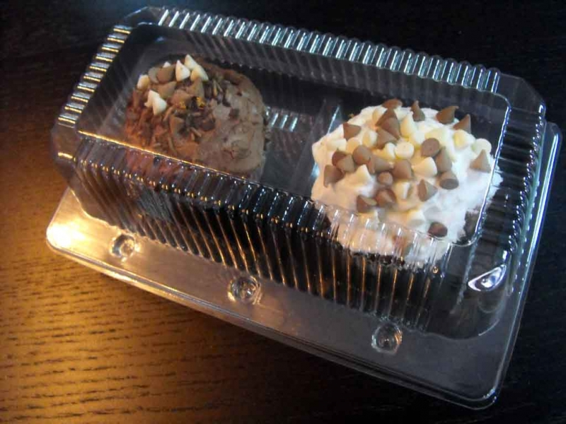 Caserole cupcakes  Caserole cupcakes caserole compartimentate 2 cupcakes 1069 5