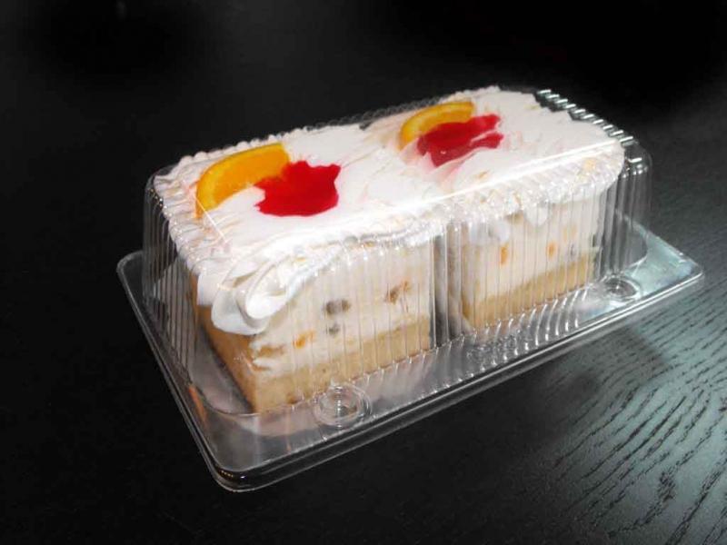Caserole din plastic prajituri  Caserole din plastic prajituri caserole doua compartimente prajituri frisca 1078 1