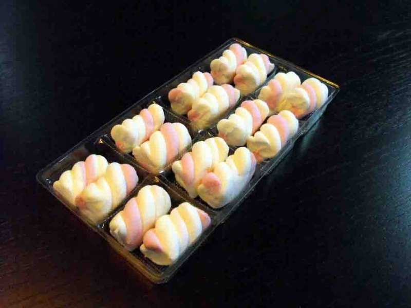Chese figurine Marshmallow  Chese figurine Marshmallow chese plastic 8 alveole figurine marshmallow 989 3