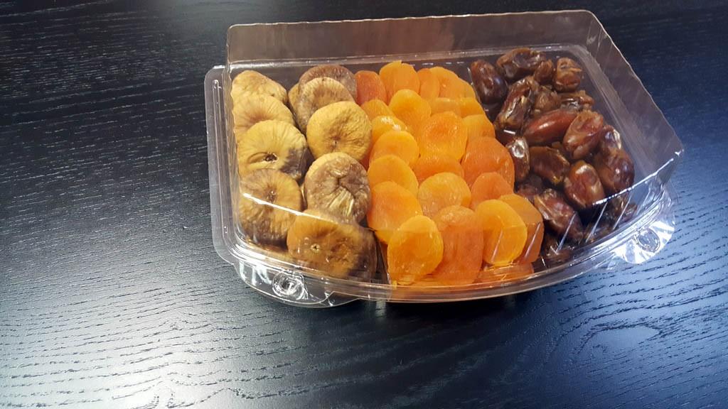 Caserola cu 3 compartimente  Caserola cu 3 compartimente pentru fructe uscate si seminte (model Elegance 4121) 1 5 1024x576