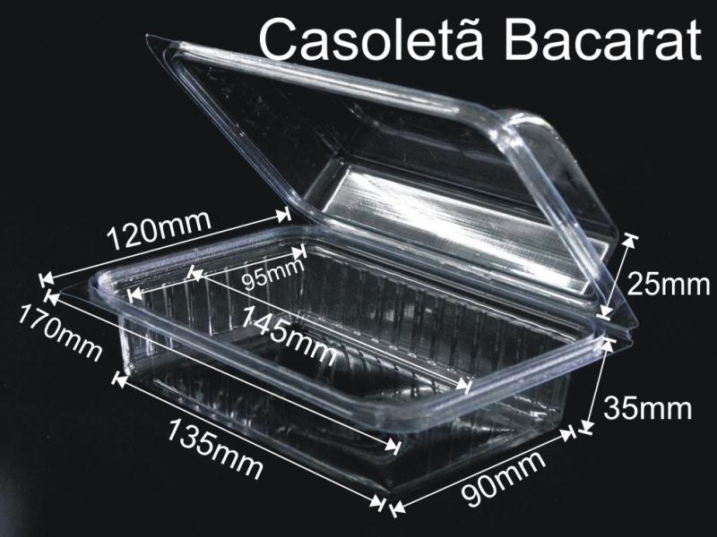 Caserola cu capac din plastic transparent pentru fructe uscate (model 4097) 9